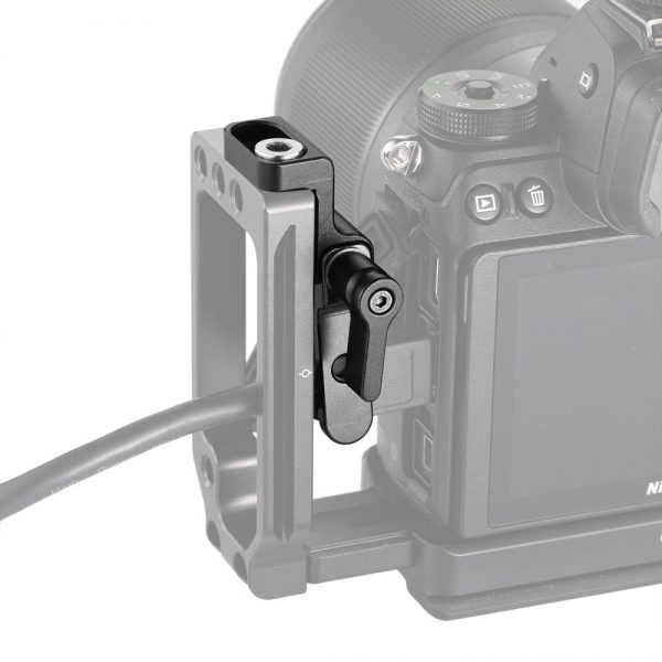 SmallRig DSLR Camera Rig HDMI Cable Clamp for Nikon Z6 / Z7 L Plate 2258 or for Sony A7III / A7RIII Camera L Bracket 2236 2259