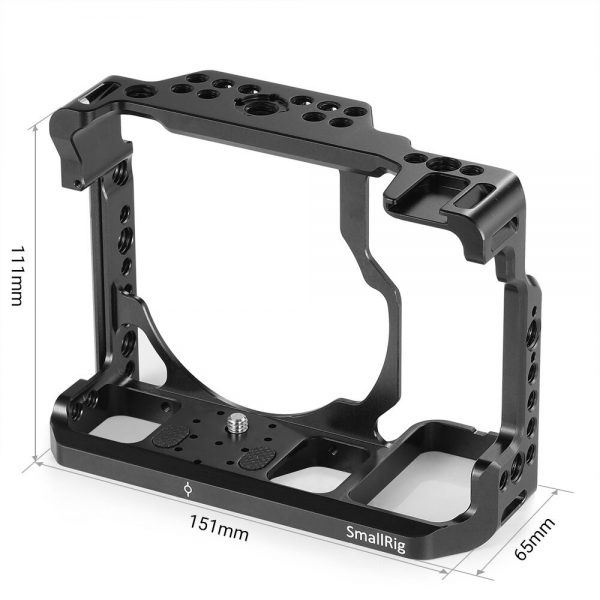 SmallRig Z6/ Z7 Camera Cage for Nikon Z6 Cage Stabilizer For Nikon Z7 or Z6 ii Z7 ii Form fitting Cage With Cold Shoe Mount Nato Rail - 2243